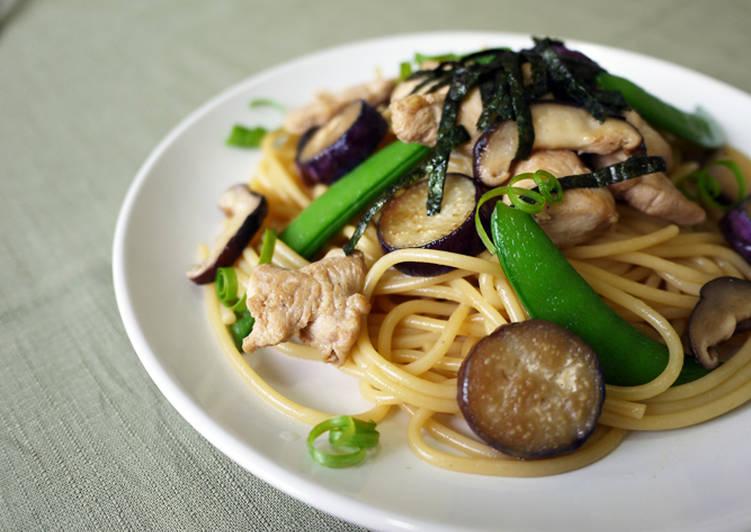 日式♪ 和風義大利麵