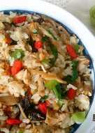 麻香雞絲菜飯