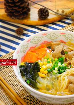 日式豬肉牛奶拉麵