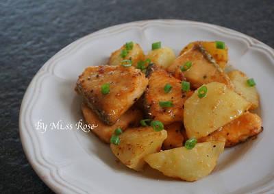 味噌鮭魚馬鈴薯