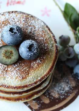 爆漿藍莓鬆餅