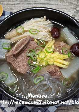 韓式牛排骨湯갈비탕