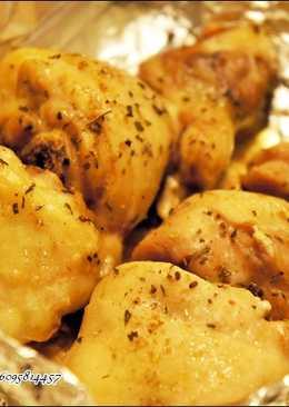 鹽焗烤雞腿