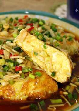 高麗菜厚蛋燒