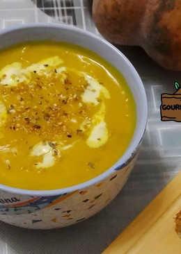 (超簡易美味)南瓜濃湯