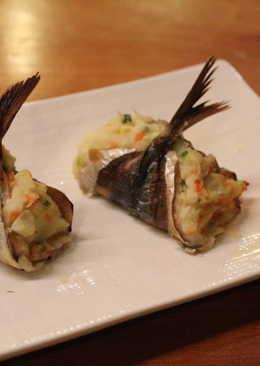 竹莢魚馬鈴薯沙拉燒