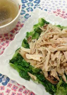火腿香菇雞湯 ♥雞湯兩吃 2