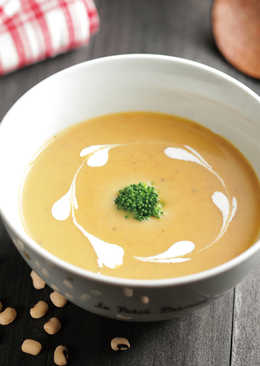 米豆南瓜濃湯(燜燒法)