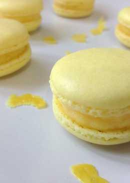 Lemon Custard Macaron檸檬卡士達馬卡龍