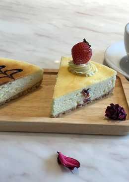 酒釀蔓越莓大理石起士蛋糕