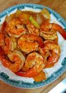 蒜香茄汁大蝦