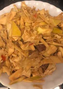 竹筍炒肉絲