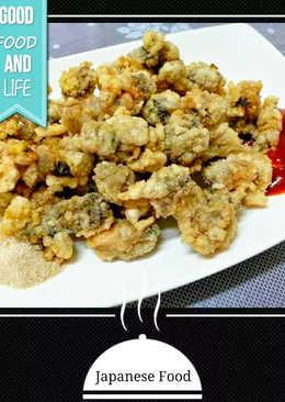 酥炸鮮蚵(牡蠣)