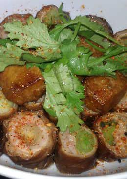 香煎鑲蒜滷肥腸