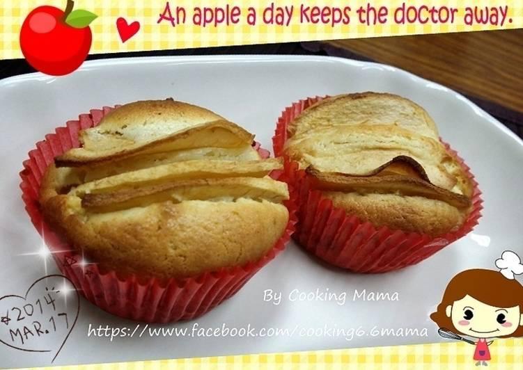 杯子蛋糕❤蘋果