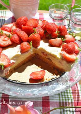 白巧克力草莓起士蛋糕