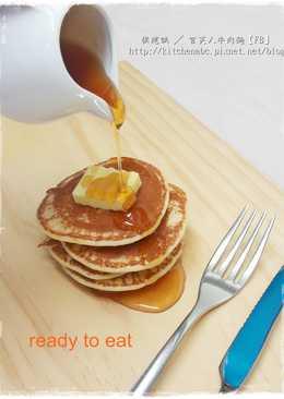 【蜂蜜鬆餅pan cake】超Easy平底鍋料理
