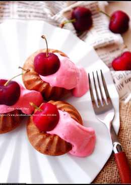 櫻桃醬可可蛋糕