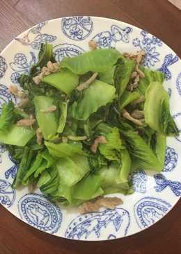 肉絲炒刈菜