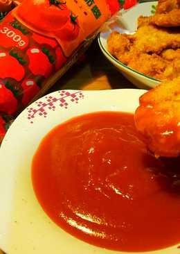 糖醋醬炸雞塊