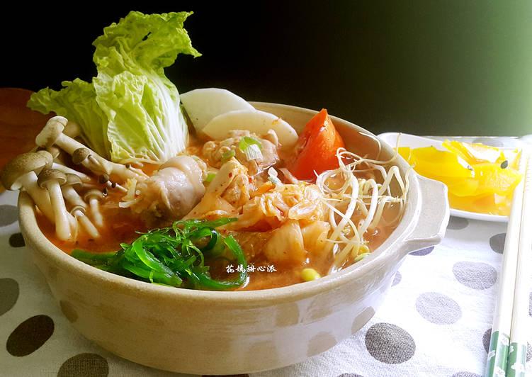 韓式泡菜雞肉鍋