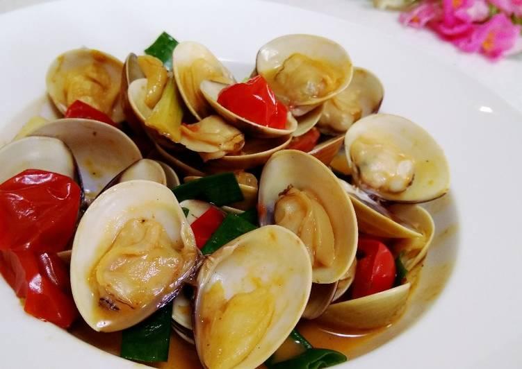 蕃茄炒蛤蜊