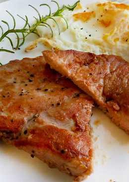 醬香嫩煎豬排〞