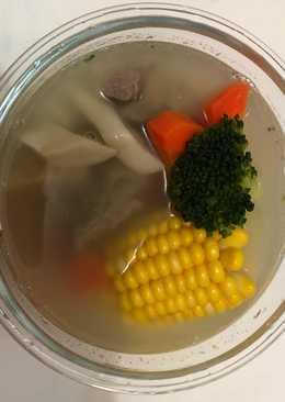 排骨玉米湯
