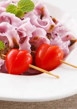 【家樂福廚房】小蕃茄愛心串