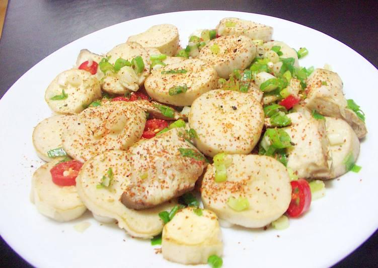 素菜干貝~椒鹽杏苞菇