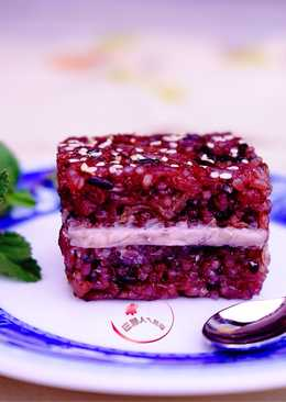 芋泥桂圓紫米糕