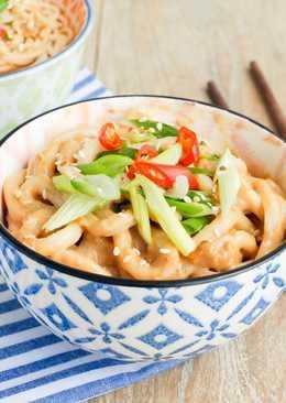 花生醬拌麵