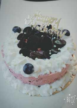 藍莓慕絲蛋糕
