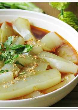 [涼拌綠豆粉皮]懶人料理2步驟涼拌菜
