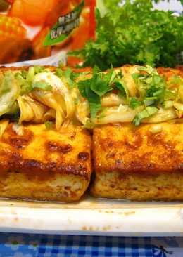 烤臭豆腐&茄汁泡菜