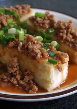 肉燥脆皮豆腐