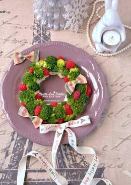 [阿妮塔♥yummy] 餐桌上的聖誕花圈。