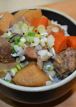 馬鈴薯燉肉。簡易版