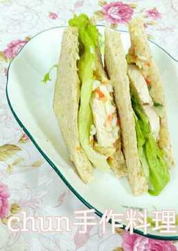 雞肉蛋沙拉三明治