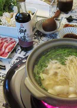 【御釀拌淋風味】昆布柴魚豬肉鍋