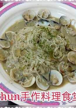 蛤蜊青醬米線