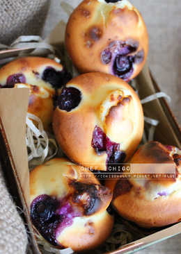 藍莓奶油乳酪馬芬 Blueberry cream cheese muffins