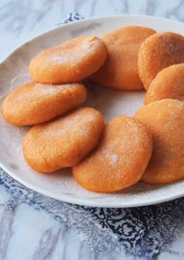 賀年小吃:流心芝士黄金糯米甜薯饼