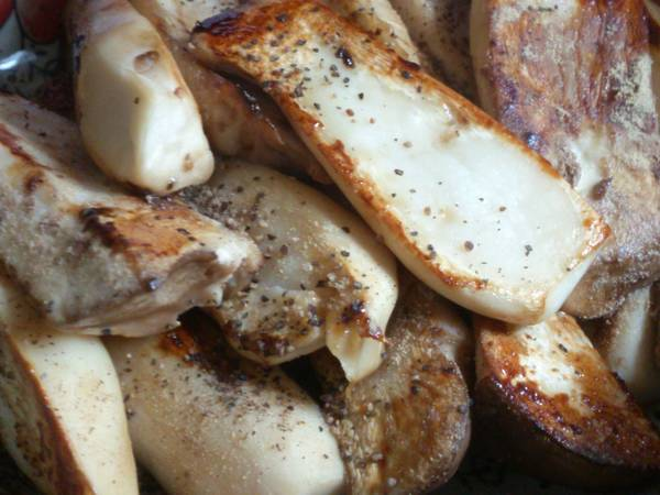 香煎杏包菇