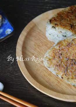 鮪魚沙拉.味噌烤飯糰
