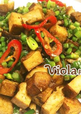 Xo醬炒豆乾韭菜花