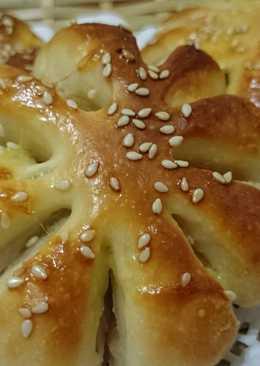 地瓜(芋頭)花型麵包
