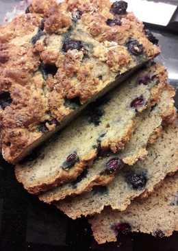 香蕉藍莓優格麵包