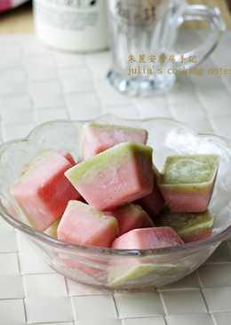 [西瓜冰磚]簡單3步驟完成好吃又好看水果冰