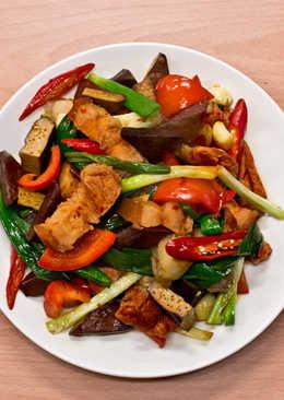 菲姐私房菜-辣炒回鍋肉